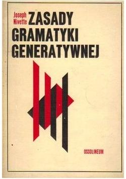 Zasady gramatyki generatywnej