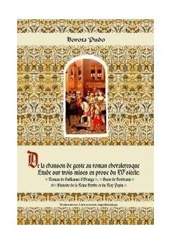 De la Chanson de Geste au Roman Chevaleresque