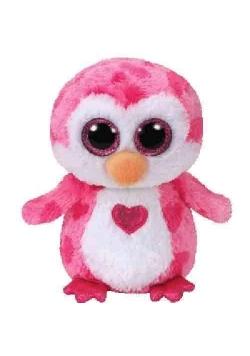 Beanie Boos Juliet - Różowy Pingwin 15cm