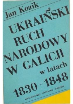 Ukraiński ruch narodowy w Galicji w latach 1830 - 1848