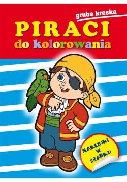 Piraci do kolorowania