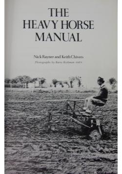 The heavy horse manual