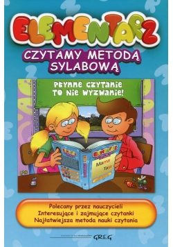Elementarz Czytamy metodą sylabową