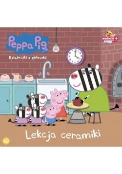 Świnka Peppa. Książeczki z.. 48 Lekcja ceramiki