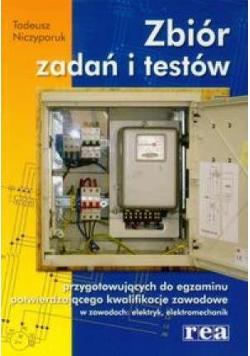 Zbiór zadań i testów w zawodach: elektryk  REA
