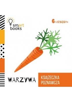 Książeczka poznawcza 6 M+ Warzywa