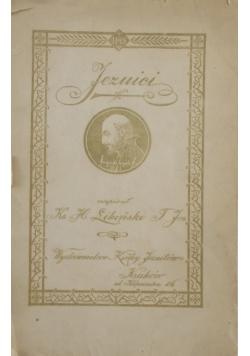 Jezuici, 1930 r.