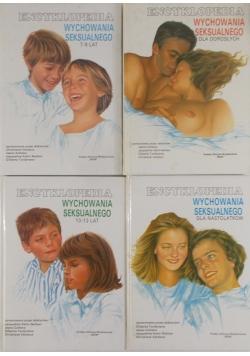 Encyklopedia wychowania seksualnego , zestaw 4 książek