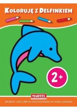 Koloruję z delfinkiem 2+