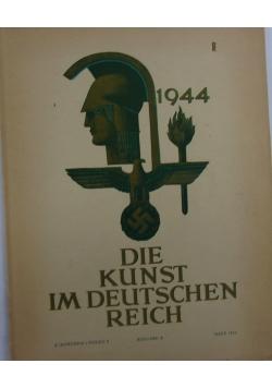 Die Kunst im Deutschen Reich,1944r.