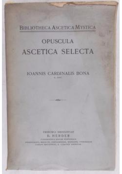 Opuscula Ascetica Selecta, 1910 r.