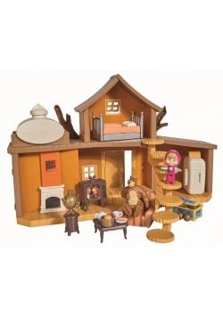 Masza i Niedźwiedź Dwupoziomowy dom Niedźwiedzia
