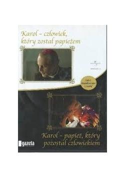 Karol - człowiek, który został papieżem/Karol - papież, który pozostał człowiekiem, płyta DVD