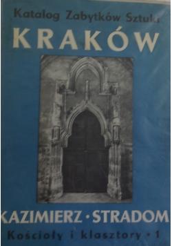 Katalog zabytków sztuki w Polsce, Tom IV Kraków