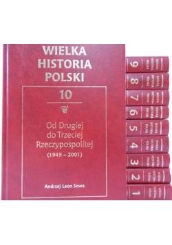 Wielka Historia Polski, Tom I-X (komplet)