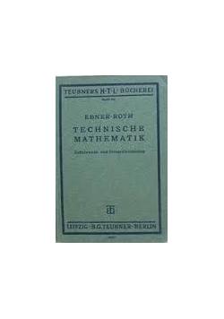 Technische mathematik, 1935 r.