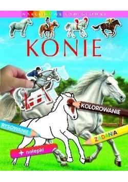 Naklejkowe łamigłówki - Konie