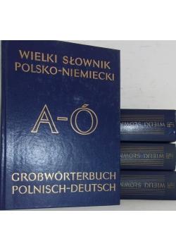 Wielki słownik niemiecko- polski; polsko- niemiecki, 4 tomy