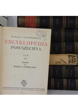 Wielka ilustrowana encyklopedia powszechna. Zestaw 7 książek