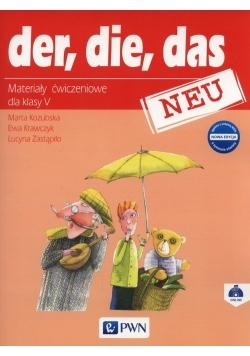Der Die Das Neu 5. Materiały ćwiczeniowe