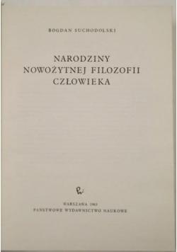 Narodziny nowożytnej filozofii człowieka
