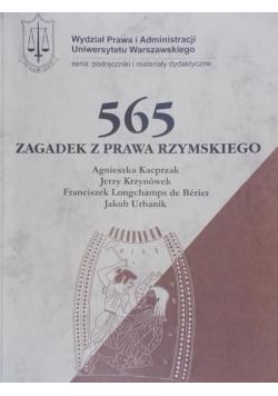 565 zagadek z Prawa Rzymskiego