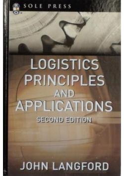 Logistics Principles and Applications
