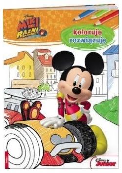 Miki i Raźni Rajdowcy. Koloruję, rozwiązuję