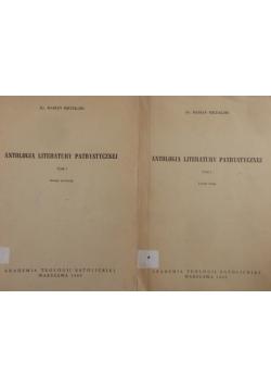 Antologia literatury patrystycznej - Zeszyt I - II