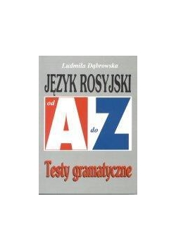 Repetytorium Od A do Z testy - J. rosyjski KRAM