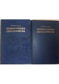 Homiletisches quellenwerk. Tom I i IV, Reprint 1939 r.