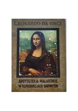 Leonardo da Vinci arcydzieła malarskie w reprodukcjach barwnych