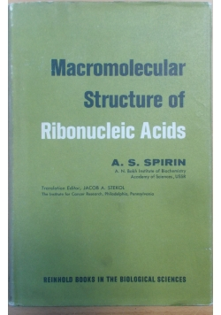 Macromolecular Structure of Ribonucleic Acids