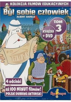 Był sobie człowiek książka+DVD Tom 3
