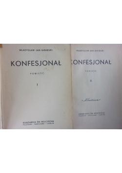 Konfesjonał , tom I - II, 1949 r.