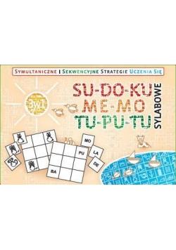 Zestaw 3w1 - Su-do-ku, me-mo, tu-pu-tu sylabowe