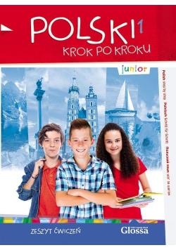 Polski krok po kroku. Junior A1. Zeszyt ćwiczeń