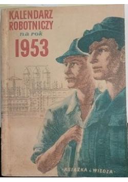 Kalendarz robotniczy na rok 1953