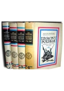 Legiony Polskie . Prawda i legenda 1794-1807,  Tom I-IV