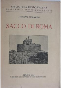 Sacco Di Roma, 1921 r.