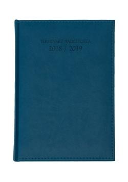 Terminarz nauczyciela A5 2018/2019 niebieski Vivella