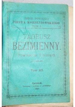 Tadeusz Bezimienny, 1898r.