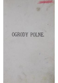 Ogrody polne , 1884 r.