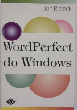 WordPerfect do Windows