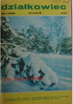 Działkowiec, nr 1-12 1983