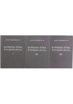 Katolicka etyka wychowawcza, zestaw 3 książek