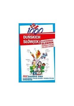 1000 duńskich słów(ek). Ilustrowany słownik...