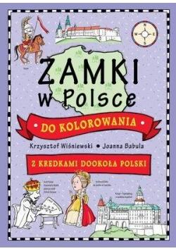 Zamki w Polsce do kolorowania