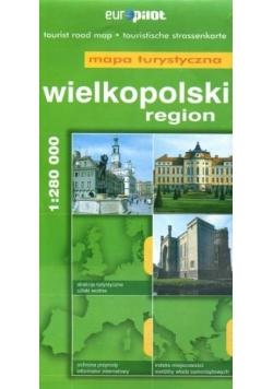 Mapa Turystyczna EuroPilot. Region Wielkopolski br