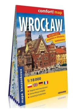 Comfort! map Wrocław 1:18 000 mapa MINI